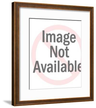 Laughing Lion-Pop Ink - CSA Images-Framed Art Print