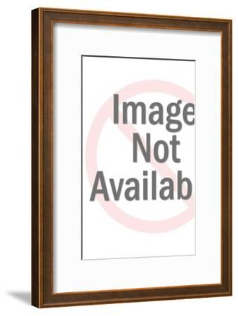 Polar Bear-Pop Ink - CSA Images-Framed Art Print