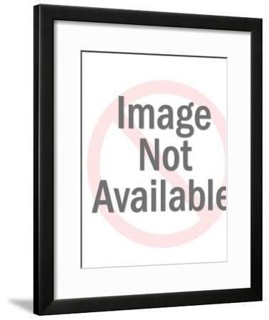 Women Trapped in Alien Mind-Pop Ink - CSA Images-Framed Art Print