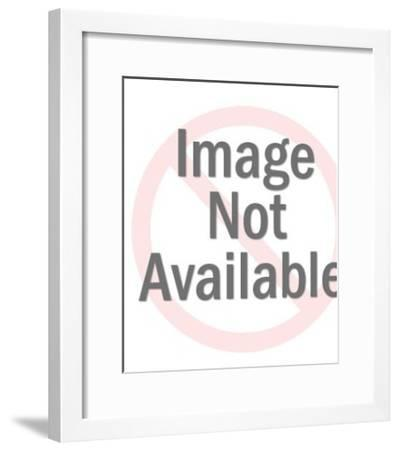 Saint Holding Sheep-Pop Ink - CSA Images-Framed Art Print