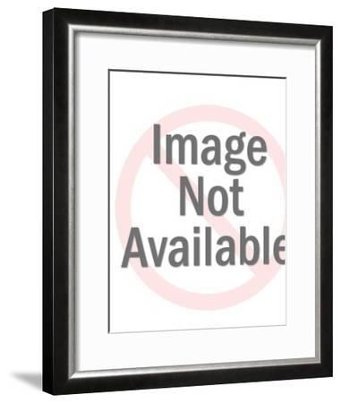 Mary With Baby Jesus-Pop Ink - CSA Images-Framed Art Print