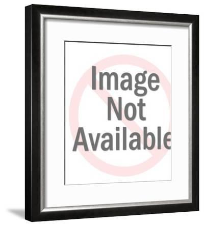 Spotlight on a Man-Pop Ink - CSA Images-Framed Art Print