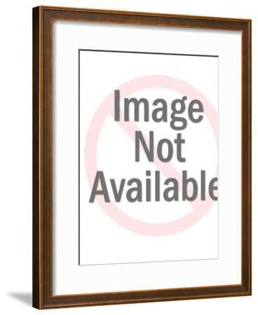 Slashing a Dollar Sign-Pop Ink - CSA Images-Framed Art Print