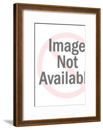 Jesus With Followers-Pop Ink - CSA Images-Framed Art Print