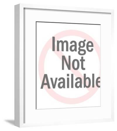 Circus Elephant-Pop Ink - CSA Images-Framed Art Print