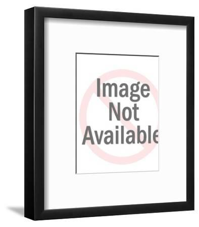 Closeup of a Blond with Mustache and Beard-Pop Ink - CSA Images-Framed Art Print