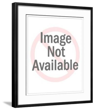 Figurine of a Basketball Player-Pop Ink - CSA Images-Framed Photo