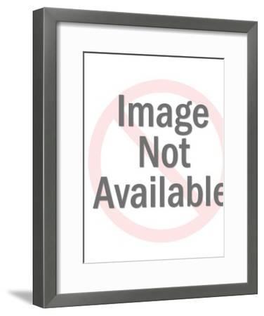 Island Warrior-Pop Ink - CSA Images-Framed Photo