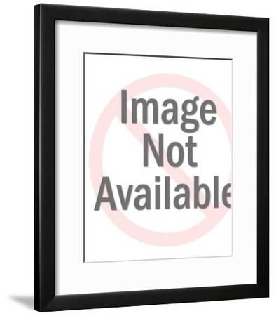 Woman Posing in Black Bikini-Pop Ink - CSA Images-Framed Photo