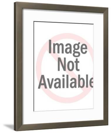 Angel with Banner-Pop Ink - CSA Images-Framed Photo
