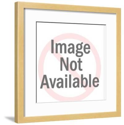 Gold Space Gun-Pop Ink - CSA Images-Framed Photo