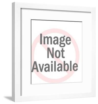 Angel Praying-Pop Ink - CSA Images-Framed Photo
