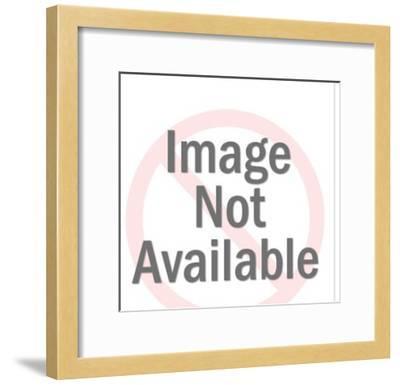 Man Using Jackhammer-Pop Ink - CSA Images-Framed Photo