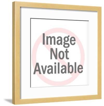 Goat Mask-Pop Ink - CSA Images-Framed Photo