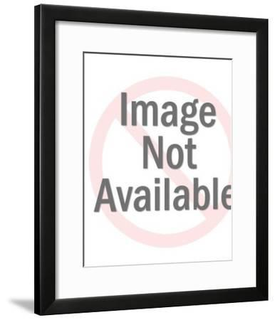 Plastic Toy Clown-Pop Ink - CSA Images-Framed Photo