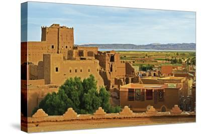 Kasbah Taourirt, Ouarzazate, Morocco, North Africa, Africa-Jochen Schlenker-Stretched Canvas Print