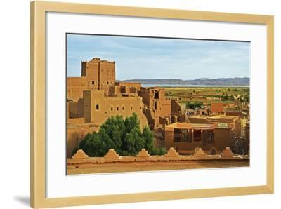 Kasbah Taourirt, Ouarzazate, Morocco, North Africa, Africa-Jochen Schlenker-Framed Photographic Print
