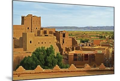 Kasbah Taourirt, Ouarzazate, Morocco, North Africa, Africa-Jochen Schlenker-Mounted Photographic Print