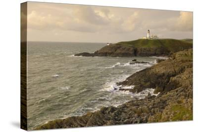 Killantringall Lighthouse, Near Portpatrick, Rhins of Galloway, Dumfries and Galloway, Scotland, UK-Gary Cook-Stretched Canvas Print