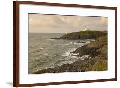 Killantringall Lighthouse, Near Portpatrick, Rhins of Galloway, Dumfries and Galloway, Scotland, UK-Gary Cook-Framed Photographic Print