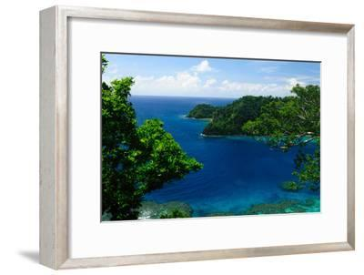 Horse Shoe Bay, Fiji, South Pacific, Pacific-Bhaskar Krishnamurthy-Framed Photographic Print
