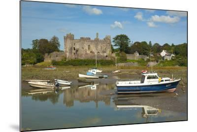 Laugharne Castle, Carmarthenshire, Wales, United Kingdom, Europe-Billy Stock-Mounted Photographic Print