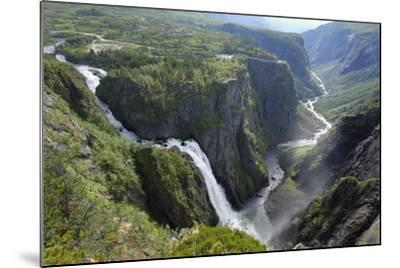 Voringfoss Waterfall, Near Eidfjord, Hordaland, Norway, Scandinavia, Europe-Gary Cook-Mounted Photographic Print