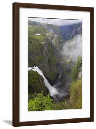 Voringfoss Waterfall, Near Eidfjord, Hordaland, Norway, Scandinavia, Europe-Gary Cook-Framed Photographic Print