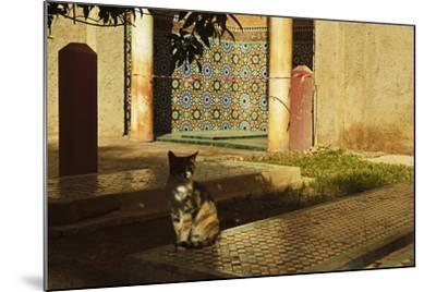 Saadian Tombs, Medina, Marrakesh, Morocco, North Africa, Africa-Jochen Schlenker-Mounted Photographic Print