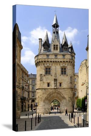 Porte Cailhau, Bordeaux, UNESCO World Heritage Site, Gironde, Aquitaine, France, Europe-Peter Richardson-Stretched Canvas Print