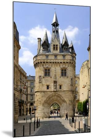 Porte Cailhau, Bordeaux, UNESCO World Heritage Site, Gironde, Aquitaine, France, Europe-Peter Richardson-Mounted Photographic Print