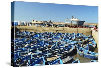 Port, Essaouira, Atlantic Coast, Morocco, North Africa, Africa-Jochen Schlenker-Stretched Canvas Print
