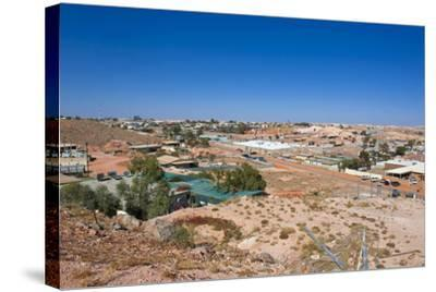 View over Coober Pedy, South Australia, Australia, Pacific-Michael Runkel-Stretched Canvas Print