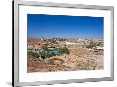 View over Coober Pedy, South Australia, Australia, Pacific-Michael Runkel-Framed Photographic Print