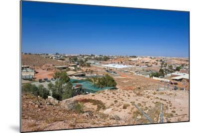 View over Coober Pedy, South Australia, Australia, Pacific-Michael Runkel-Mounted Photographic Print