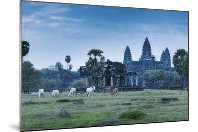 Temple Complex of Angkor Wat, Angkor, UNESCO World Heritage Site, Siem Reap, Cambodia, Indochina-Andrew Stewart-Mounted Photographic Print