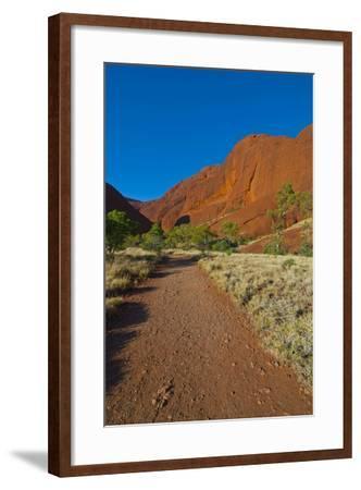 The Olgas (Kata Tjuta), Uluru-Kata Tjuta Nat'l Park, UNESCO Site, Northern Territory, Australia-Michael Runkel-Framed Photographic Print