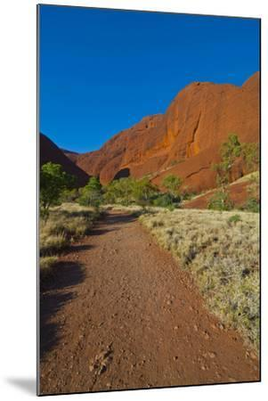 The Olgas (Kata Tjuta), Uluru-Kata Tjuta Nat'l Park, UNESCO Site, Northern Territory, Australia-Michael Runkel-Mounted Photographic Print