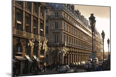 Sunset on Rue de la Paix, Paris, France, Europe-Matthew Frost-Mounted Photographic Print