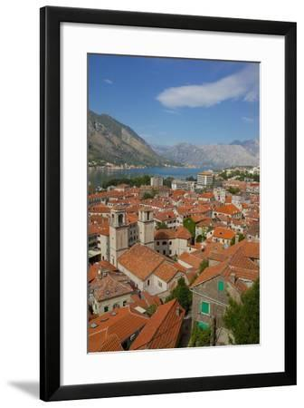 View over Old Town, Kotor, UNESCO World Heritage Site, Montenegro, Europe-Frank Fell-Framed Photographic Print