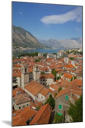 View over Old Town, Kotor, UNESCO World Heritage Site, Montenegro, Europe-Frank Fell-Mounted Photographic Print