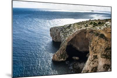The Landscape around the Blue Grotto, Malta, Mediterranean, Europe-Michael Runkel-Mounted Photographic Print