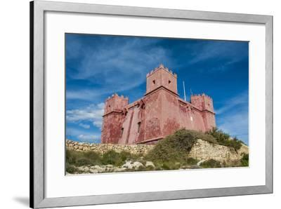St. Agatha Tower (Red Keep) (Red Tower), Malta, Europe-Michael Runkel-Framed Photographic Print