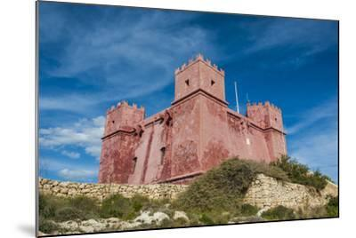 St. Agatha Tower (Red Keep) (Red Tower), Malta, Europe-Michael Runkel-Mounted Photographic Print