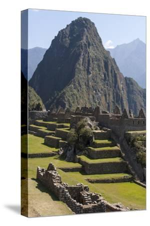Machu Picchu Is the Site of an Ancient Inca City, at 8,000 Feet-Jonathan Irish-Stretched Canvas Print