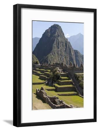 Machu Picchu Is the Site of an Ancient Inca City, at 8,000 Feet-Jonathan Irish-Framed Premium Photographic Print