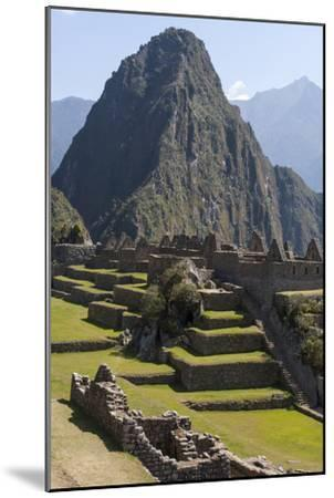 Machu Picchu Is the Site of an Ancient Inca City, at 8,000 Feet-Jonathan Irish-Mounted Premium Photographic Print