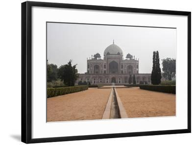The Tomb of the Mughal Emperor Humayun, a UNESCO World Heritage Site-Jonathan Irish-Framed Photographic Print