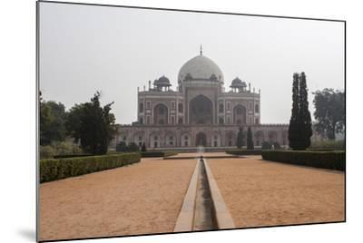The Tomb of the Mughal Emperor Humayun, a UNESCO World Heritage Site-Jonathan Irish-Mounted Photographic Print