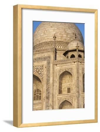 The Taj Mahal, a Mausoleum Built in Memory of Shah Jahan's Third Wife-Jonathan Irish-Framed Photographic Print